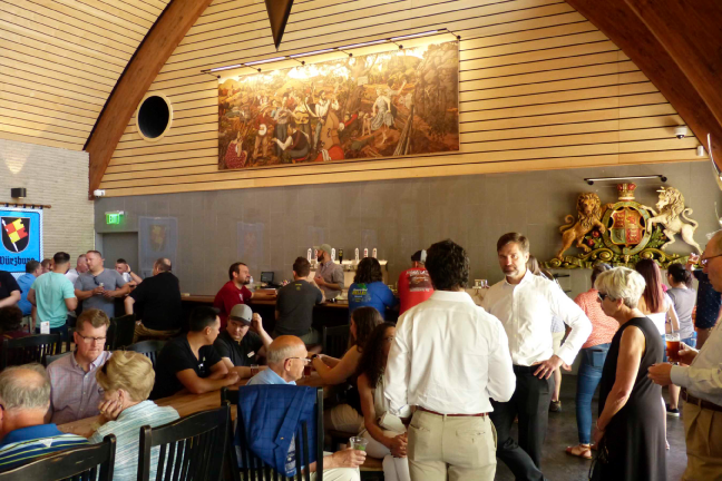 Tour Tasting in 1516 Tap  Room
